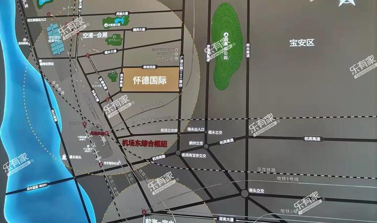 怀德国际广场配套图1