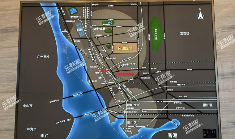 怀德国际广场位置图2