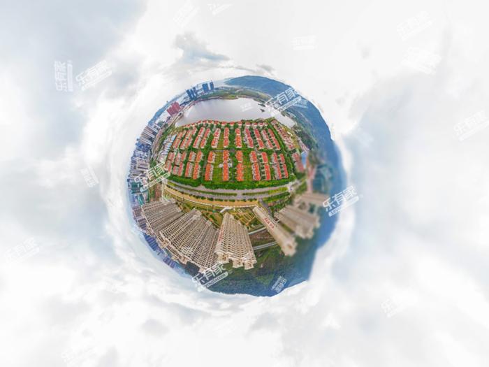 合生滨海城小区航拍