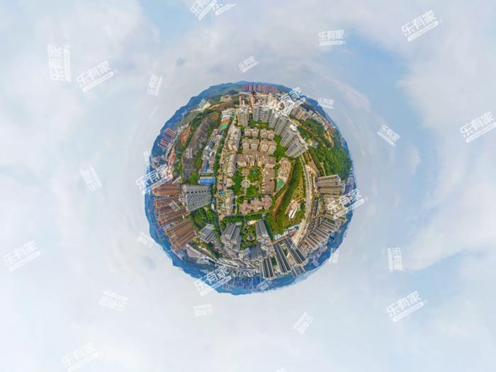 金迪星苑5期小区航拍