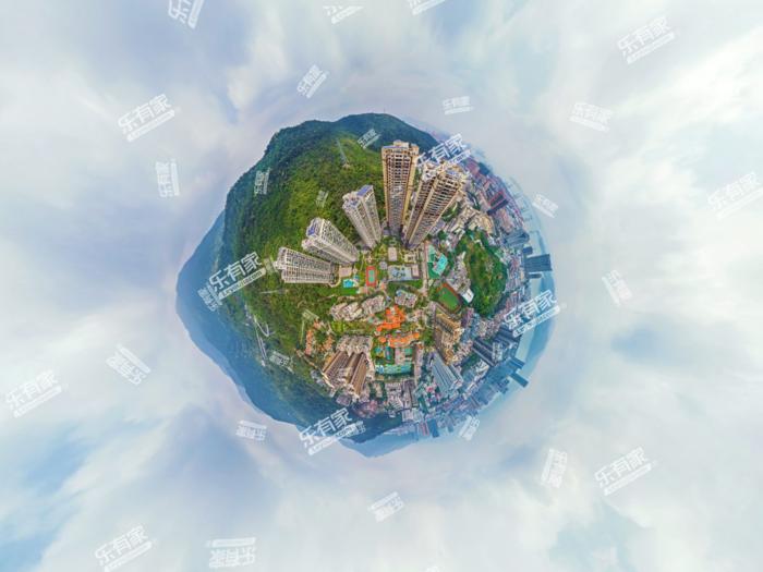 新世界倚山花园三期小区航拍