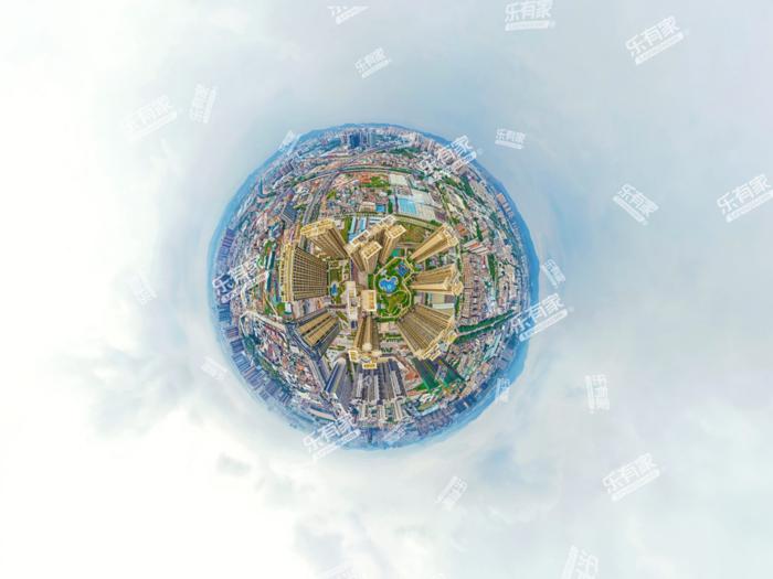 恒裕·世纪广场小区航拍