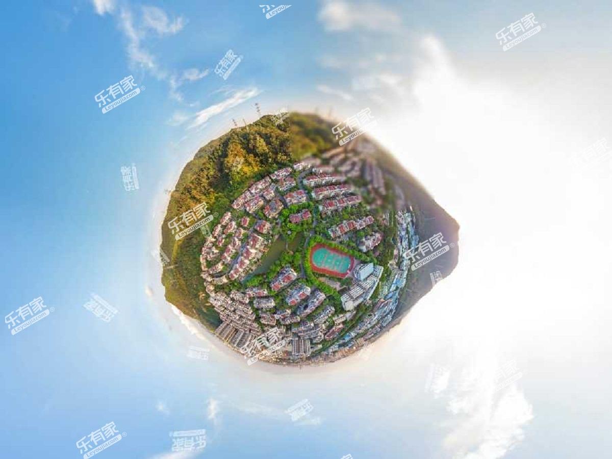 中惠沁林山庄航拍