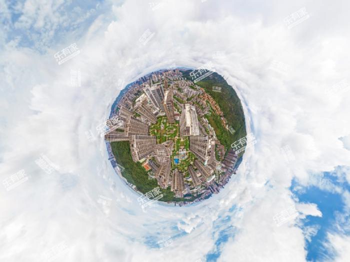格力广场小区航拍