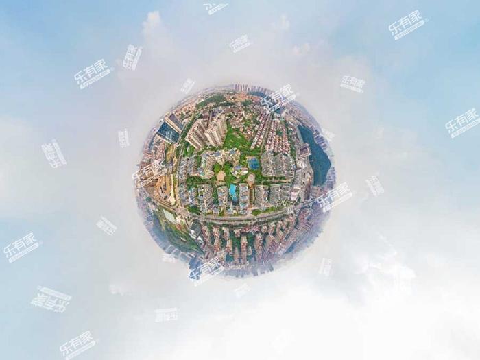 胜坚-怡景湾小区航拍