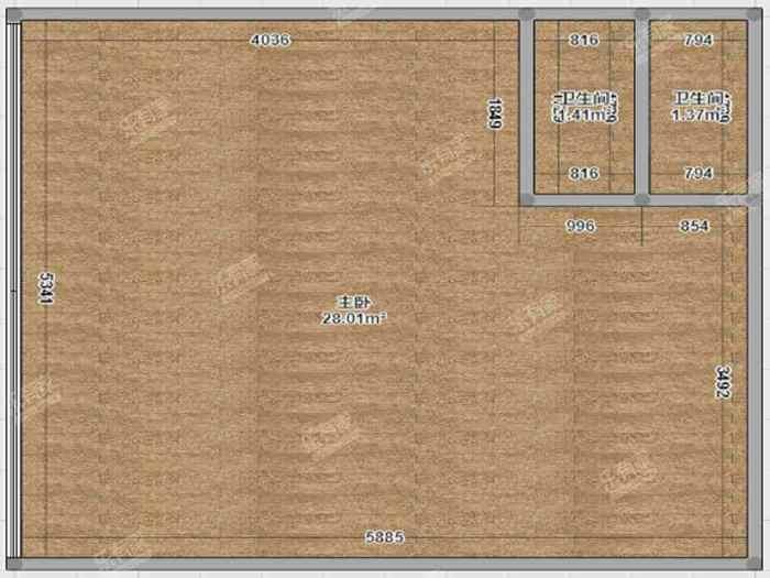 尚寓公寓户型图