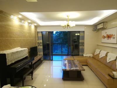 东华明珠园四房二厅精装自住房带家私电器出租