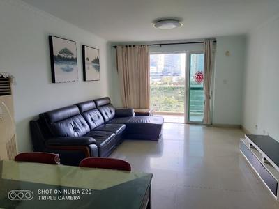 后海东南向大三房,带8.6米长大阳台,居家享受户型-深圳蔚蓝海岸二期租房