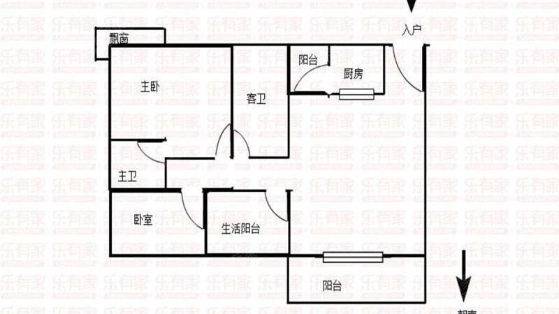 嘉宏盛世豪苑户型图