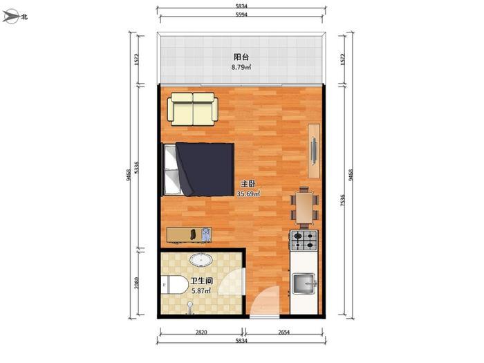 乔邦国际公寓户型图