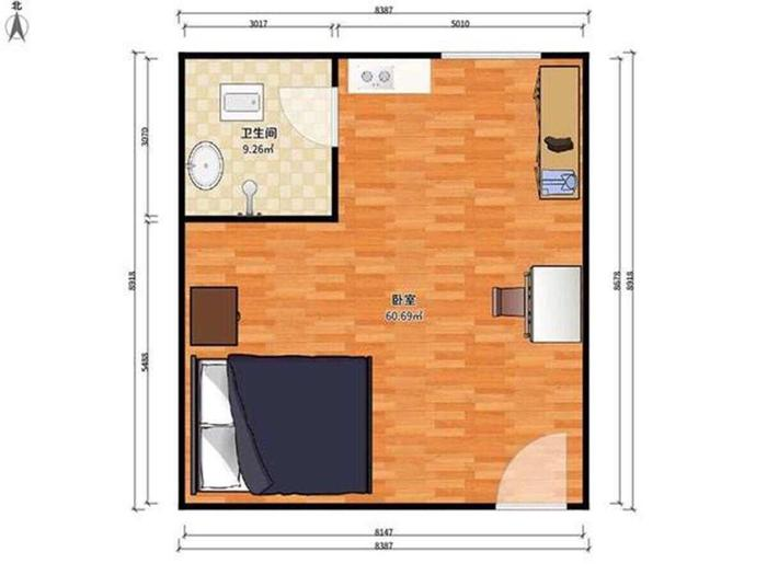 新时代公寓户型图