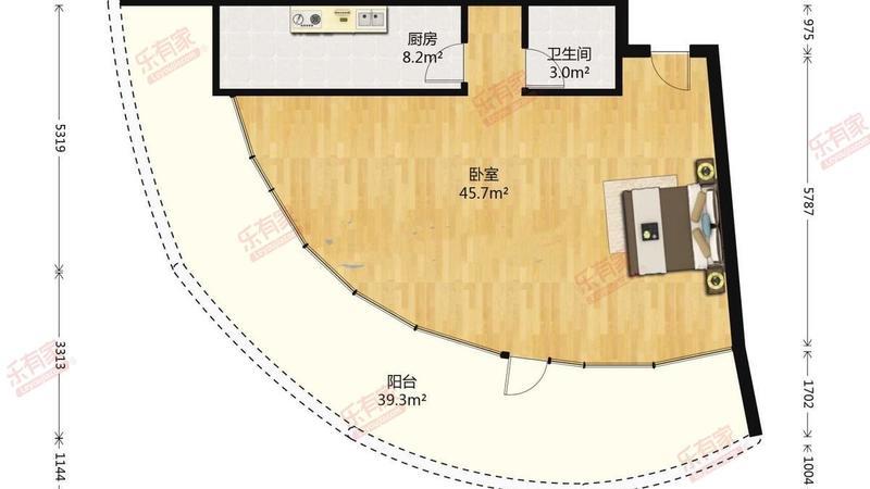 正规2房,业主诚心出售,看房方便