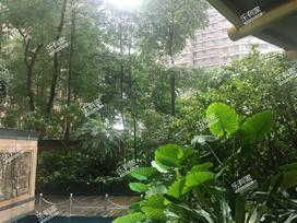 御景华城花园实景图