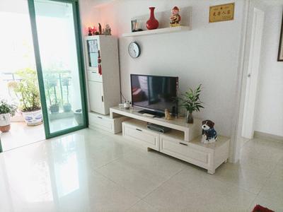 莲塘南向两房+家私电齐全+业主诚意出租-深圳名骏豪庭租房