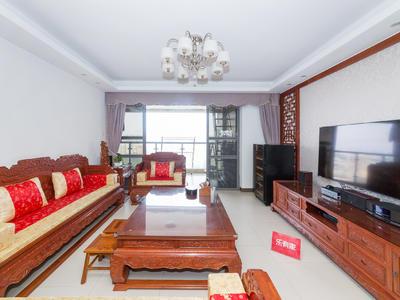 东华明珠园,豪装四房,业主诚心出售,看房方便