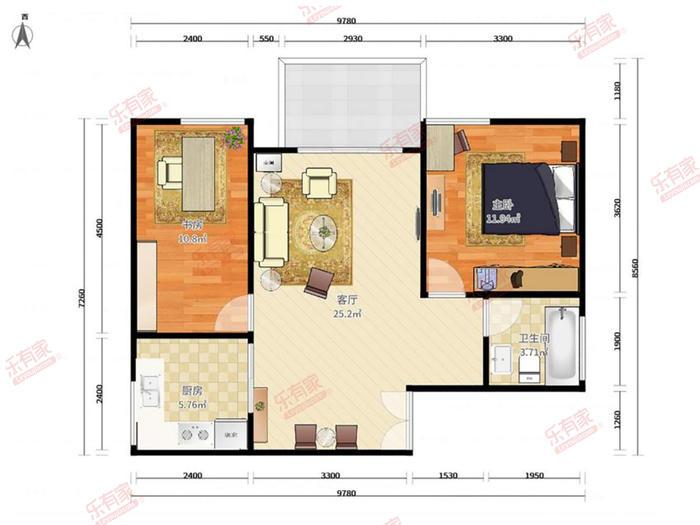 旺东怡和家园户型图