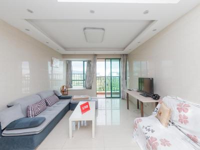 丰泰东海城堡,绿化率高,自带游泳池,精装3房-东莞丰泰东海城堡租房