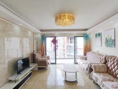 星河丹堤精装四房,全屋隔音玻璃,高楼层安静舒适。-深圳星河丹堤租房