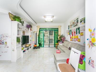 宝安实验精装4房,厅出阳台,看房花园,诚售-深圳中南花园二手房