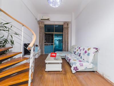 旭飞花园,精装复式一房一厅,地铁口,楼下沃尔玛-深圳旭飞花园租房