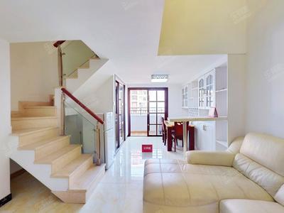 同创新作精装复式公寓,业主诚心出售。-深圳同创新作居二手房