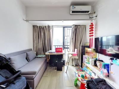 宝中花园式社区,38.05平1房,高楼层视野好,税费低-深圳花乡家园二手房