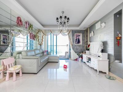 大厅出阳台,格局方正,使用面积高,高楼层,景色很好-深圳中城天邑花园二手房