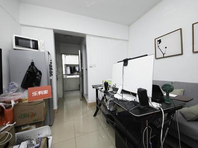 双地铁口物业,1房1厅,海滨实验名,户型方正,居家舒适-深圳桃苑公寓二手房