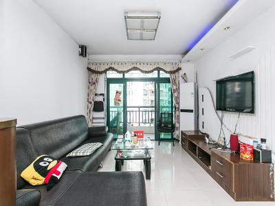 富通好旺角居家客厅出阳台2房,安静看花园-深圳富通好旺角租房