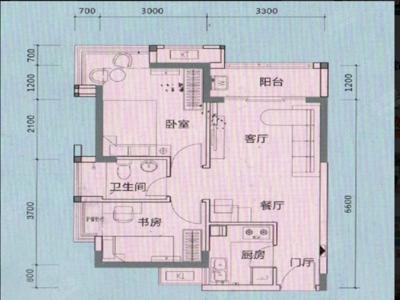 留仙洞总部基地精装1房-深圳万科云城租房