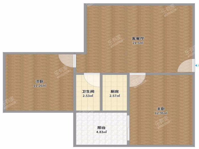 湖润名苑户型图
