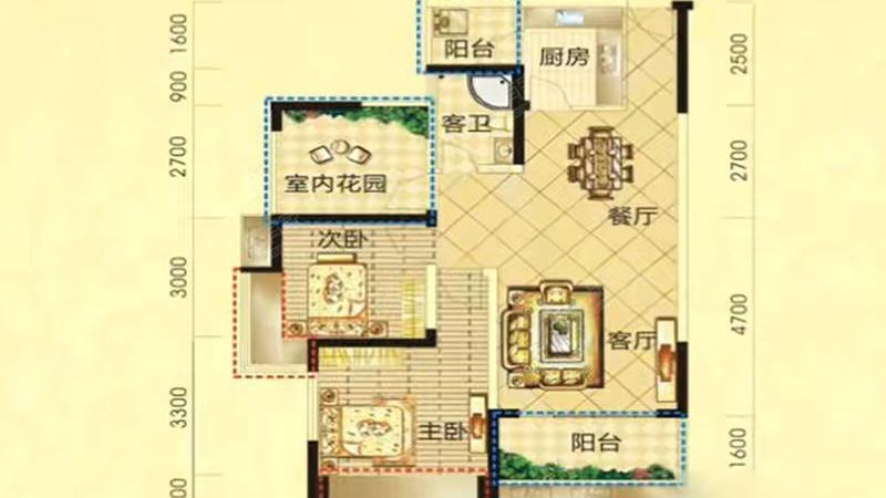 中港城户型图