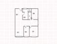 乐安居大酒店(公寓部分)户型图