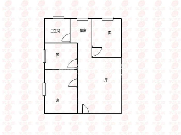 东方广场锦隆花园户型图