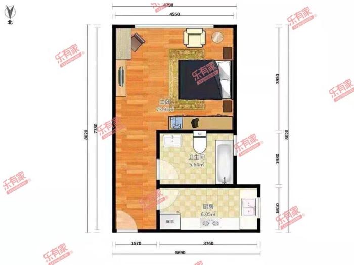 云森公寓户型图