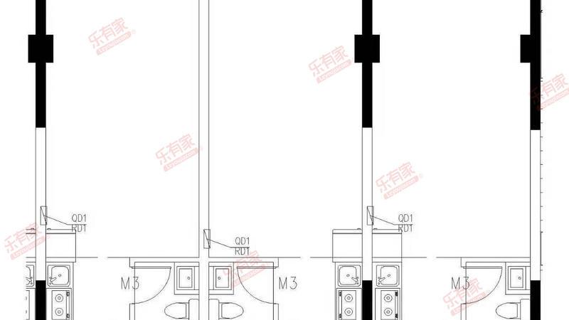 禧悦公寓户型图