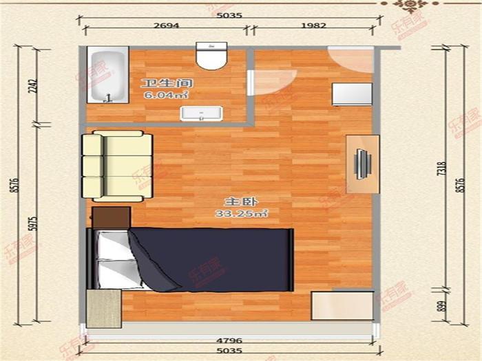 丽格国际公寓户型图