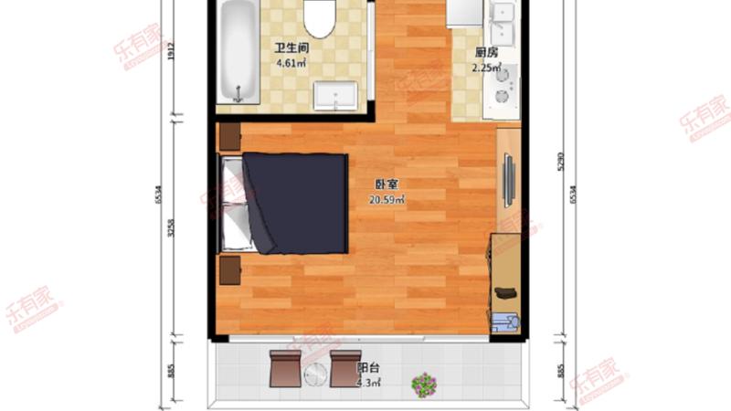 K2荔枝湾户型图