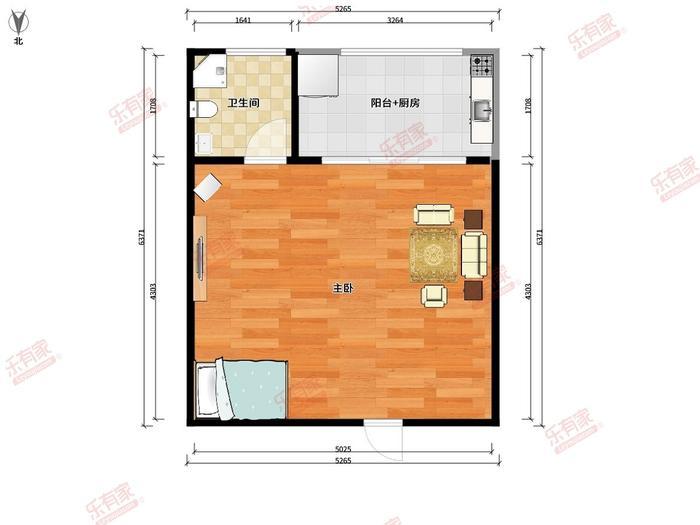 水北市场综合公寓户型图