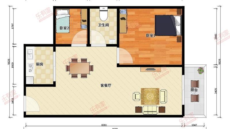 TCL康城四季四期户型图