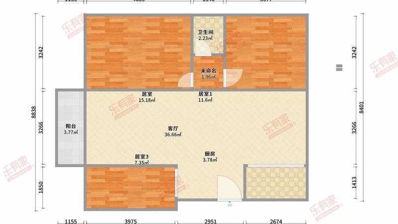 明泰城户型图
