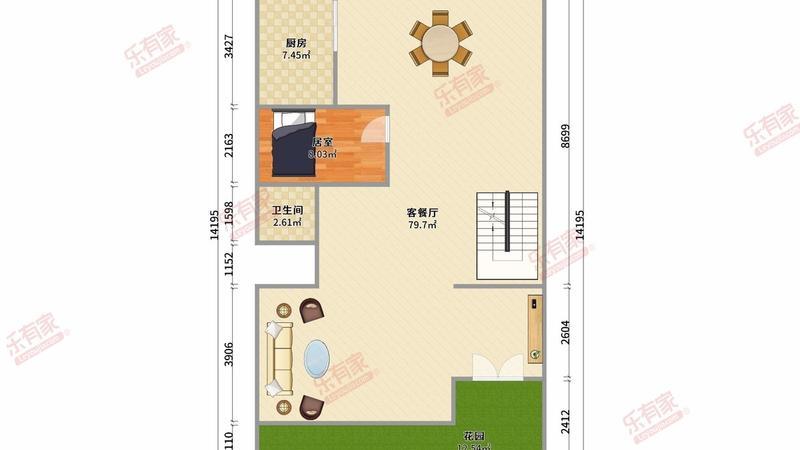 劲嘉金棕榈湾7室3厅5卫353.35㎡