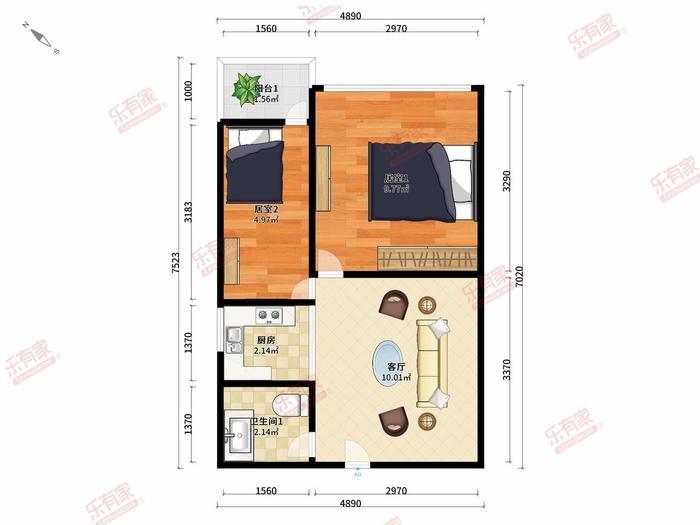 翡翠公寓户型图