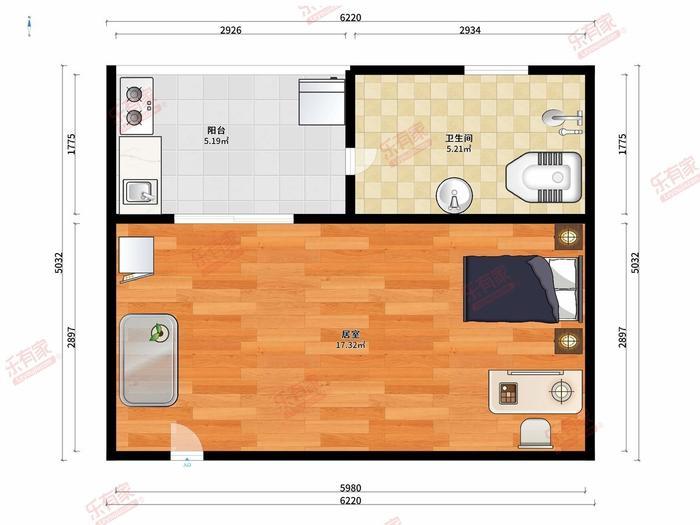 西埔燕寓户型图