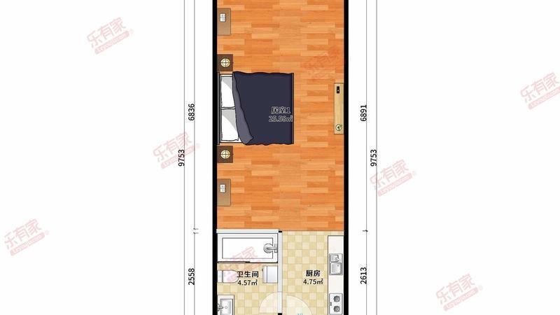 保利中汇公寓户型图