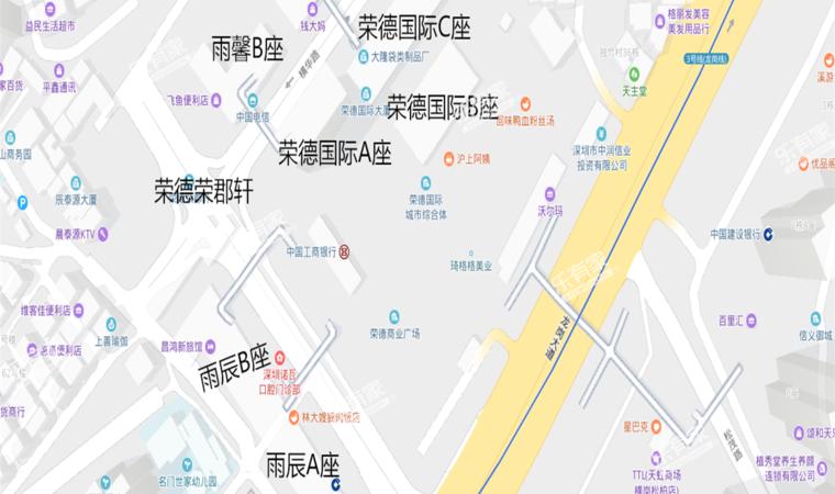 荣德时代广场沙盘图