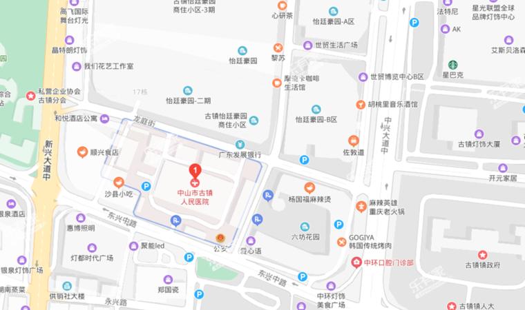 幸福华庭医院简介图
