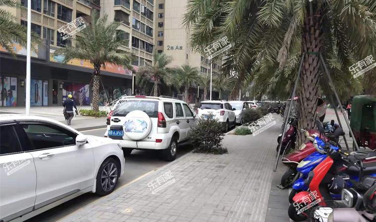 华强城市花园停车体验图