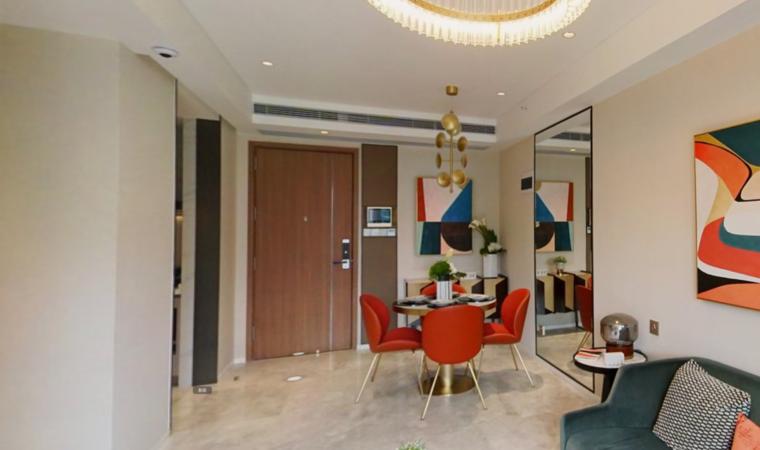 红山6979商业中心(一期)商务公寓VR图