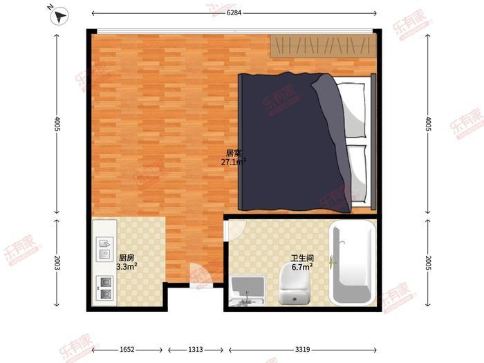 华鸿公寓酒店户型图